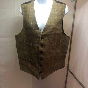 Brown Men's J. Crew Dress Vest